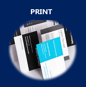 print, business cared printing