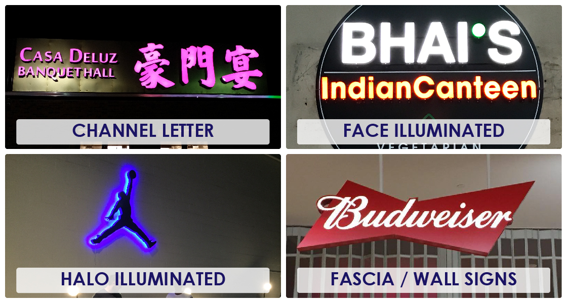 Channel Letters Signages