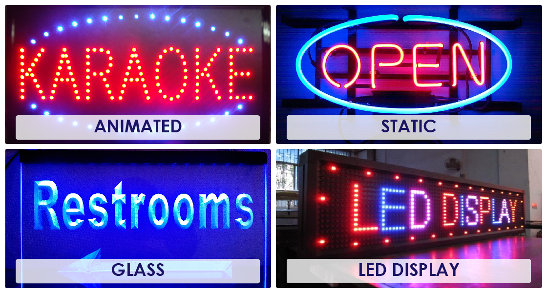 neon sign Signage