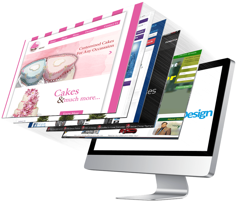 Mississauga web design company, E-commerce website development, printing