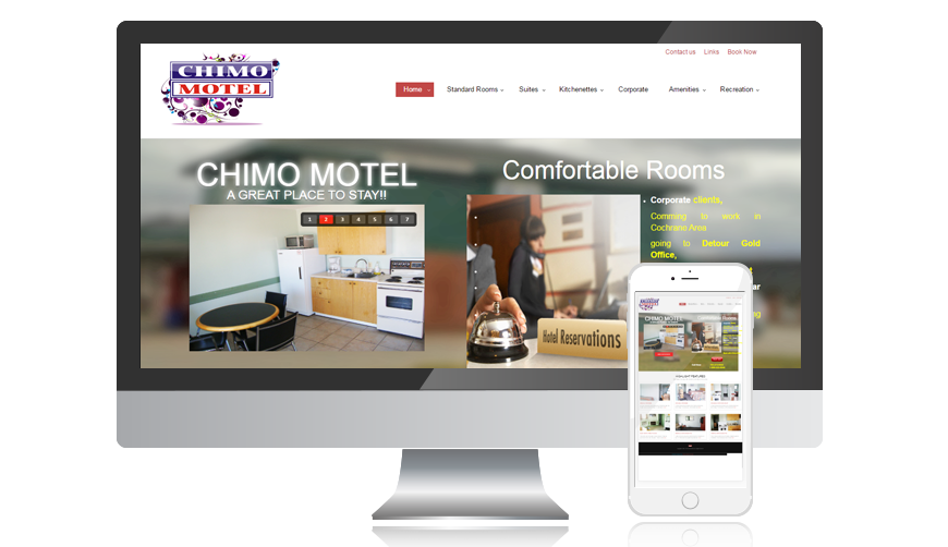 WVD portfolio website chimomotel