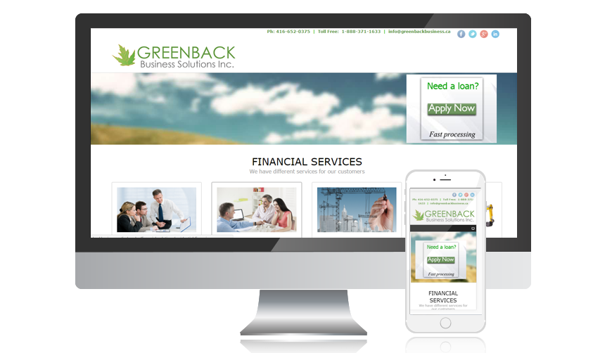 WVD portfolio website greenbackbusinesssolution
